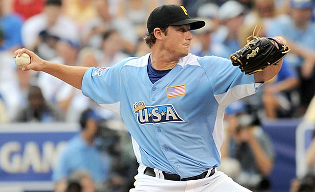 Gerrit Cole starred at UCLA and represented the US at the 2012 Futures Game.