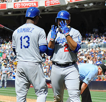 Hanley Ramirez and Adrian Gonzalez hit consecutive home runs in the ninth to propel the Dodgers to victory. (USATSI)