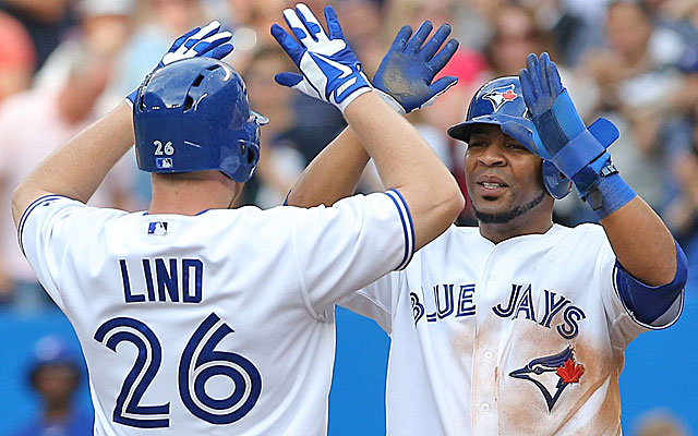 Already hot Adam Lind and Edwin Encarncacion get more help when Jose Reyes returns. (USATSI)