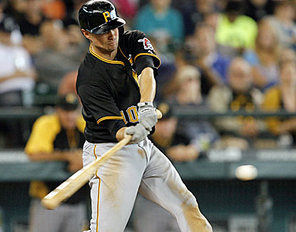 Jordy Mercer hits a go-ahead single with two outs in the ninth inning to give the Pirates another clutch win. (USATSI)