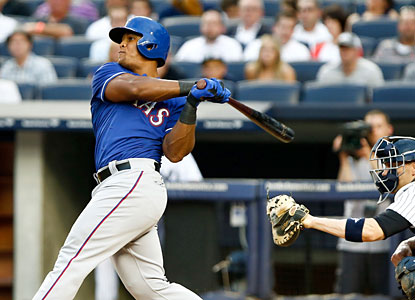 Rangers slugger Adrian Beltre finishes 3 for 5 with two doubles and a pair of RBI. (USATSI)