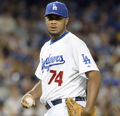 Dodgers closer Kenley Jansen escapes out of a jam in the ninth and notches his sixth save in eight attempts. (USATSI)