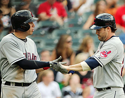 Cleveland's Jason Kipnis reaches base six times and scores four runs in the Indians' 19-10 win over the White Sox. (USATSI)