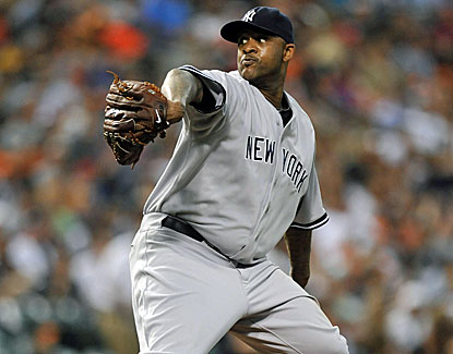 Yankees starter CC Sabathia takes a no-hitter into the sixth but Baltimore rallies for a 4-3 win. (USATSI)