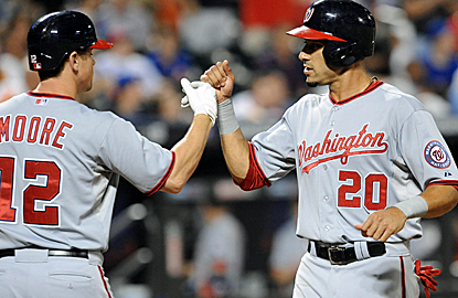 The Nationals rally from a late three-run deficit for what Davey Johnson calls the biggest win of the year.  (USATSI)