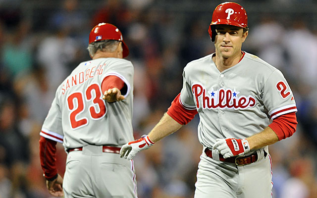 If the Phillies fall too far back, will they move Chase Utley? (USATSI)