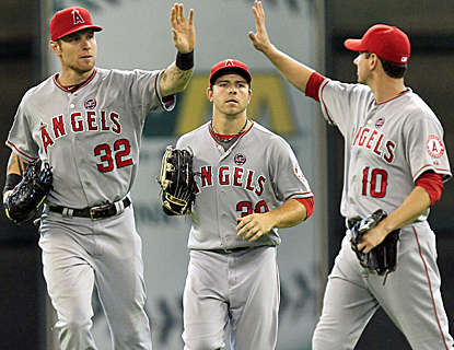 The Angels may be starting to make a move, defeating Houston for their sixth straight win.  (USATSI)