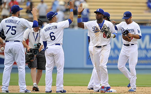 After winning eight of their past nine, the Dodgers are only four games out in the NL West.