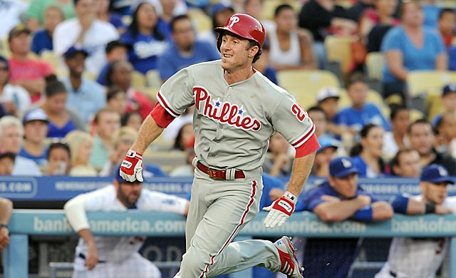 After a tremendous series at Dodger Stadium, Chase Utley could find himself there on a more frequent basis.