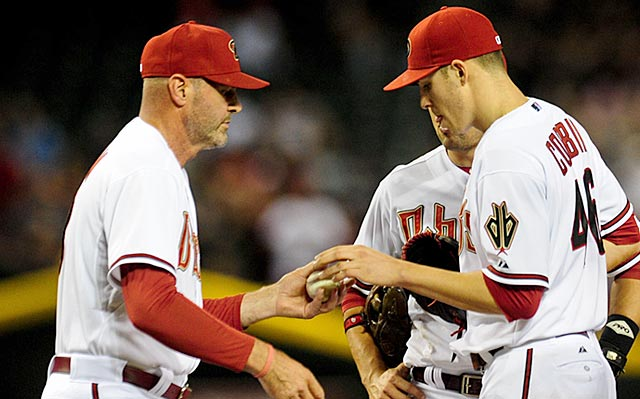 Kirk Gibson must monitor Patrick Corbin closely if he wants Arizona to reach the playoffs.