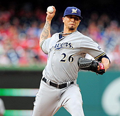 Kyle Lohse allows one run and four hits, and has a season-high seven strikeouts against the Nationals. (USATSI)