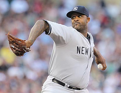Not quite 33 years old, CC Sabathia wins No. 200, including 83 victories in 4 1/2 seasons as a Yankee.  (USATSI)