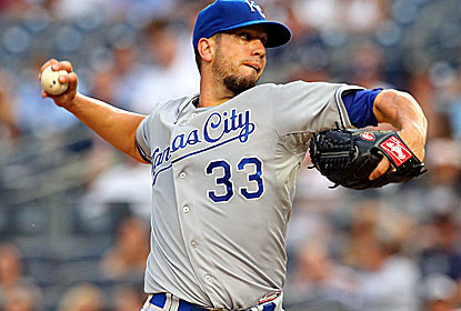 James Shields, who enters with one win in his previous 12 starts, lowers his ERA to 3.12. (USATSI)
