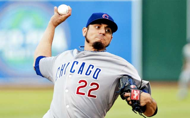 The Indians want another ace, and Matt Garza is their sights. (USATSI)