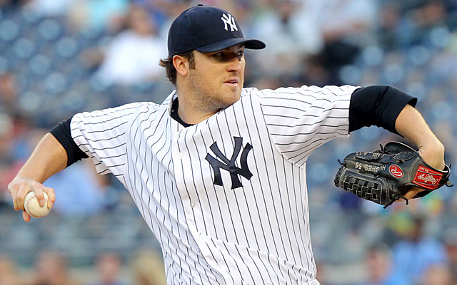 The Yankees might unload Phil Hughes with the once-promising pitcher scheduled to be a free agent. (USATSI)