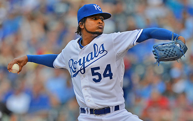 With his mechanics straightened out, Ervin Santana is sixth in the AL in ERA at 2.90. (USATSI)