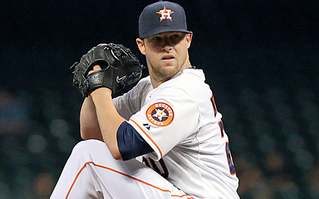 In a thin market for starting pitching, the Astros can ask a lot for Bud Norris.(USATSI)