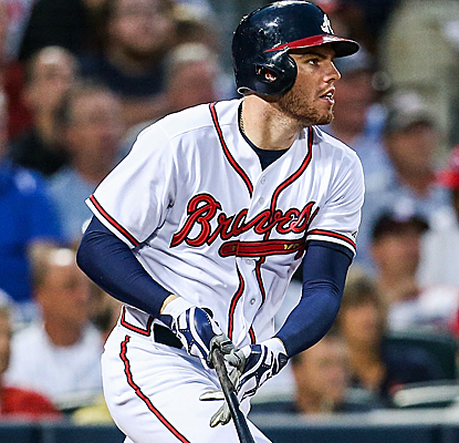 Fresh off his All-Star selection, Freddie Freeman picks up four RBI in a Braves victory.  (USATSI)