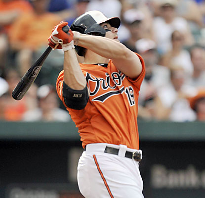 Chris Davis trails only Reggie Jackson (37) for the most HRs before the All-Star break by an AL hitter. (AP)