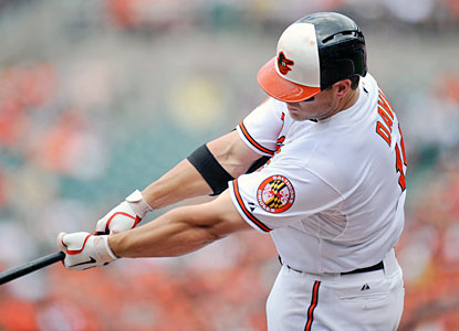 Chris Davis' 37th home run before the break ties an AL mark set by Reggie Jackson in 1969. (USATSI)