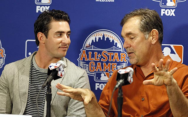 Only kidding folks: Bruce Bochy won't overwork Matt Harvey during the All-Star Game.