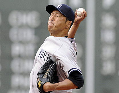 Hiroki Kuroda continues his excellent work for the Yankees, pitching 7 innings and giving up just two runs. (USATSI)