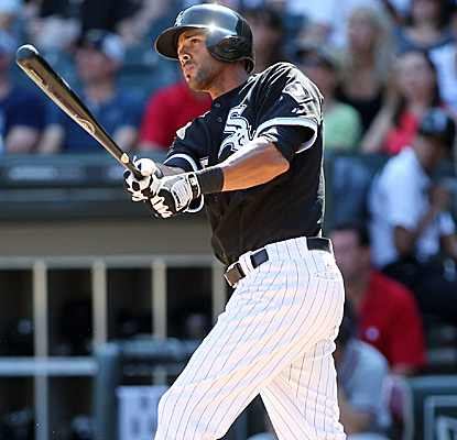 Alex Rios connects for a grand slam, finishing with 5 RBI as the White Sox knock off the Braves.  (USATSI)