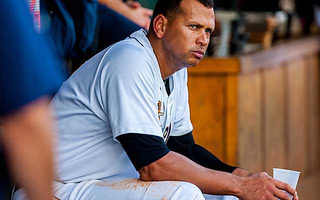 Alex Rodriguez is going to New York for an MRI after quad pain. (USATSI)