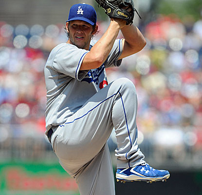 Clayton Kershaw allows two runs and two hits with nine strikeouts, putting his major league-best ERA at 2.01. (USATSI)