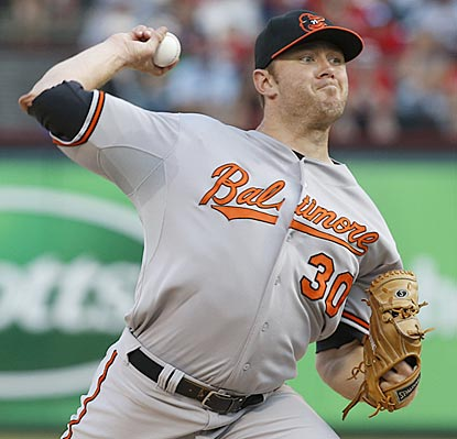 All-Star Chris Tillman, winner of 10 of his past 11 decisions, improves to 7-1 on the road this season.  (USATSI)