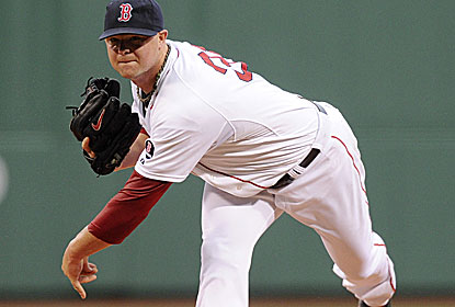 Jon Lester fans eight and walks none in 6 1/3 innings to help Boston stay in first place in the AL East.  (USATSI)