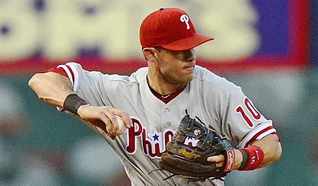 Seen as the most likely Phillies player dealt, Michael Young is a Texas clubhouse favorite. (USATSI)
