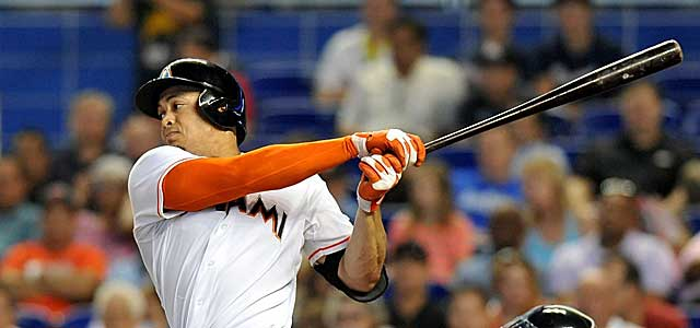Texas unsuccessfully offered four players for Marlins slugger Giancarlo Stanton. (USATSI)