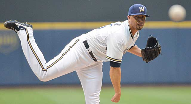 Kyle Lohse has been red-hot in June and July, which means more calls for Doug Melvin. (USATSI)