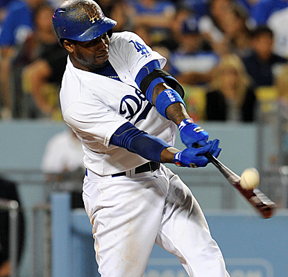 Hanley Ramirez hits a two-run homer to provide all the offense Clayton Kershaw needs in a Dodgers win.  (USATSI)