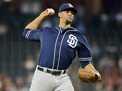 Tyson Ross pitches a career-long eight innings and allows three hits and one walk in his second victory of this road trip.  (USATSI)