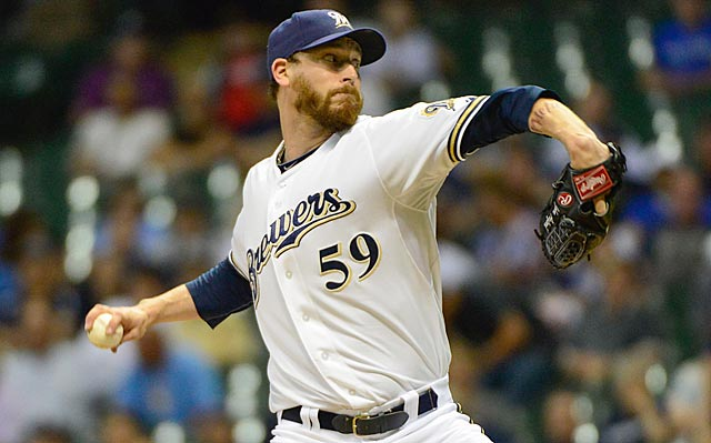The Brewers have already shipped closer Francisco Rodriguez, and John Axford might be next.