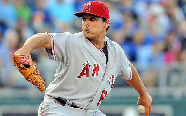 Jason Vargas, on the DL since June, might be ready to return in August. (USATSI)