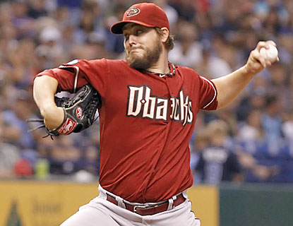 Wade Miley (8-8) stays hot for Arizona, making it 11 straight starts of giving up three runs or fewer. (USATSI)