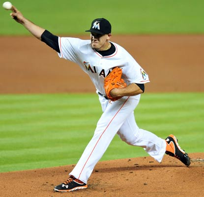 Jose Fernandez becomes the first pitcher to strike out at least 13 in consecutive games since Randy Johnson in 2004.  (USATSI)