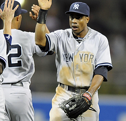 Curtis Granderson homers in his second game back from the DL, helping the Yankees to a win in San Diego.  (USATSI)