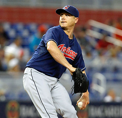 Scott Kazmir blanks the Marlins through six innings as the Indians notch their 15th shutout of the season. (USATSI)