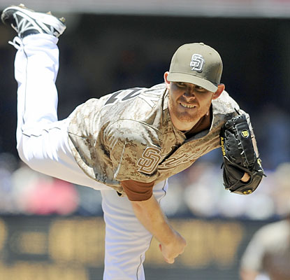 Ian Kennedy earns his first victory since June 1, and does it in his first start with the Padres. (USATSI)
