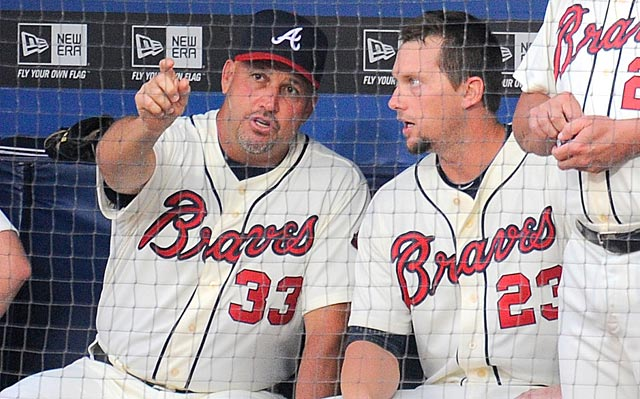 Fredi Gonzalez's goal for the next eight weeks: Make sure Chris Johnson and the Braves keep their foot on the gas.