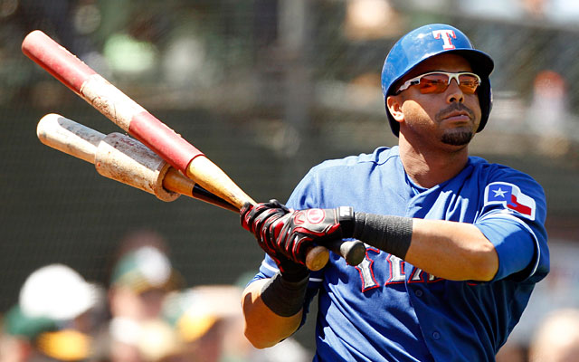 Nelson Cruz, No. 1 on the Rangers with 27 home runs and 76 RBI, will miss the rest of the regular season. (USATSI)