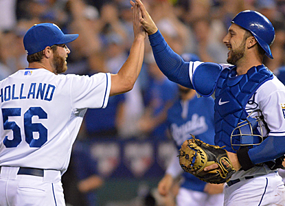 The Royals continue to push for the playoffs, moving seven games over .500 at 4 1/2 games out of the wild card.  (USATSI)