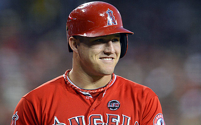 Reaching base in 41 straight games, it's no wonder some are calling Mike Trout 'the perfect player.' (USATSI)
