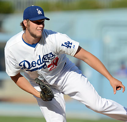 Clayton Kershaw whiffs eight through eight dominant innings to help the Dodgers improve their record to 37-8 since June 22. (USATSI)