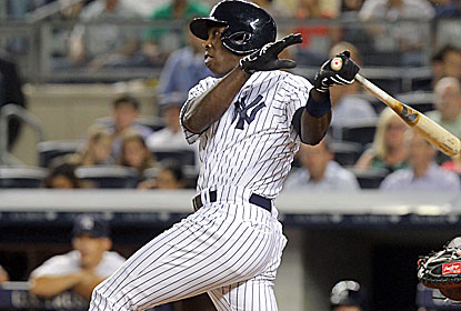 Alfonso Soriano sends one of his two homers over the fence for New York, which equals its highest run total of the season. (USATSI)