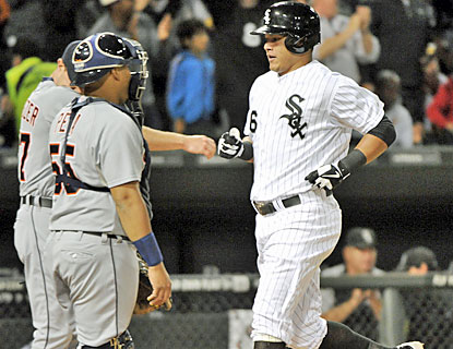 Avisail Garcia hurts his former team with a 2-for-4 effort. He finishes with two runs and two RBI. (USATSI)